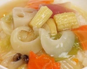 中華丼野菜